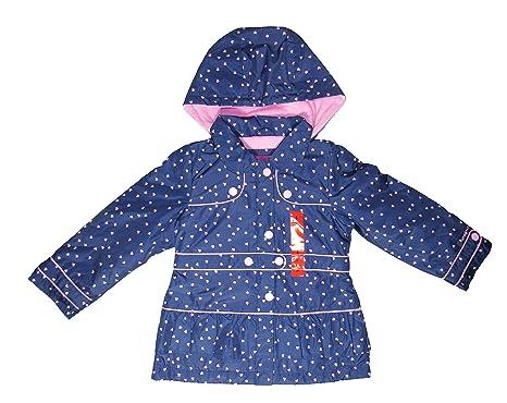 Amazon.com: London Fog Fleece-Lined Rain Jacket for Girls (2T ...