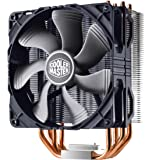 Cooler Master Hyper 212X CPU Cooler with 4 Continuous Direct Contact heatpipes - Silver fins with black fan - RR-212X-20PM-R1