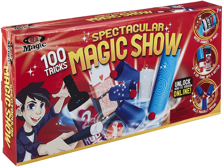 Ideal Magic Spectacular Magic Show 100 Trick Kids Magic Set