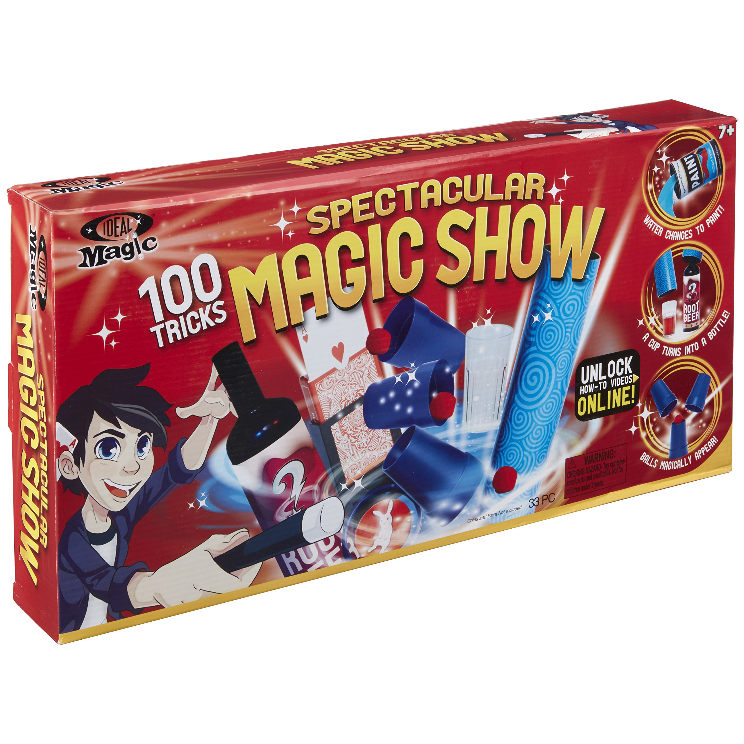 Ideal Magic Spectacular Magic Show Set by Ideal