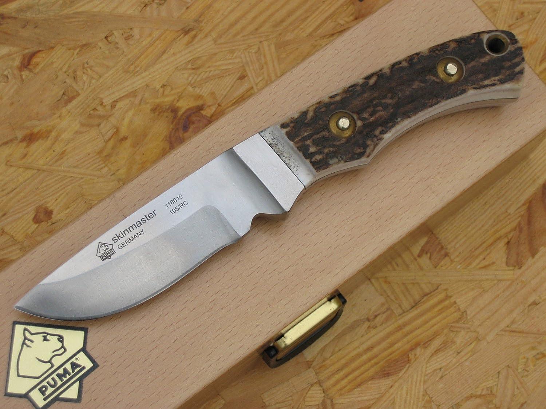 Puma 116010 Cuchillo de caza Skin Master: Amazon.es ...