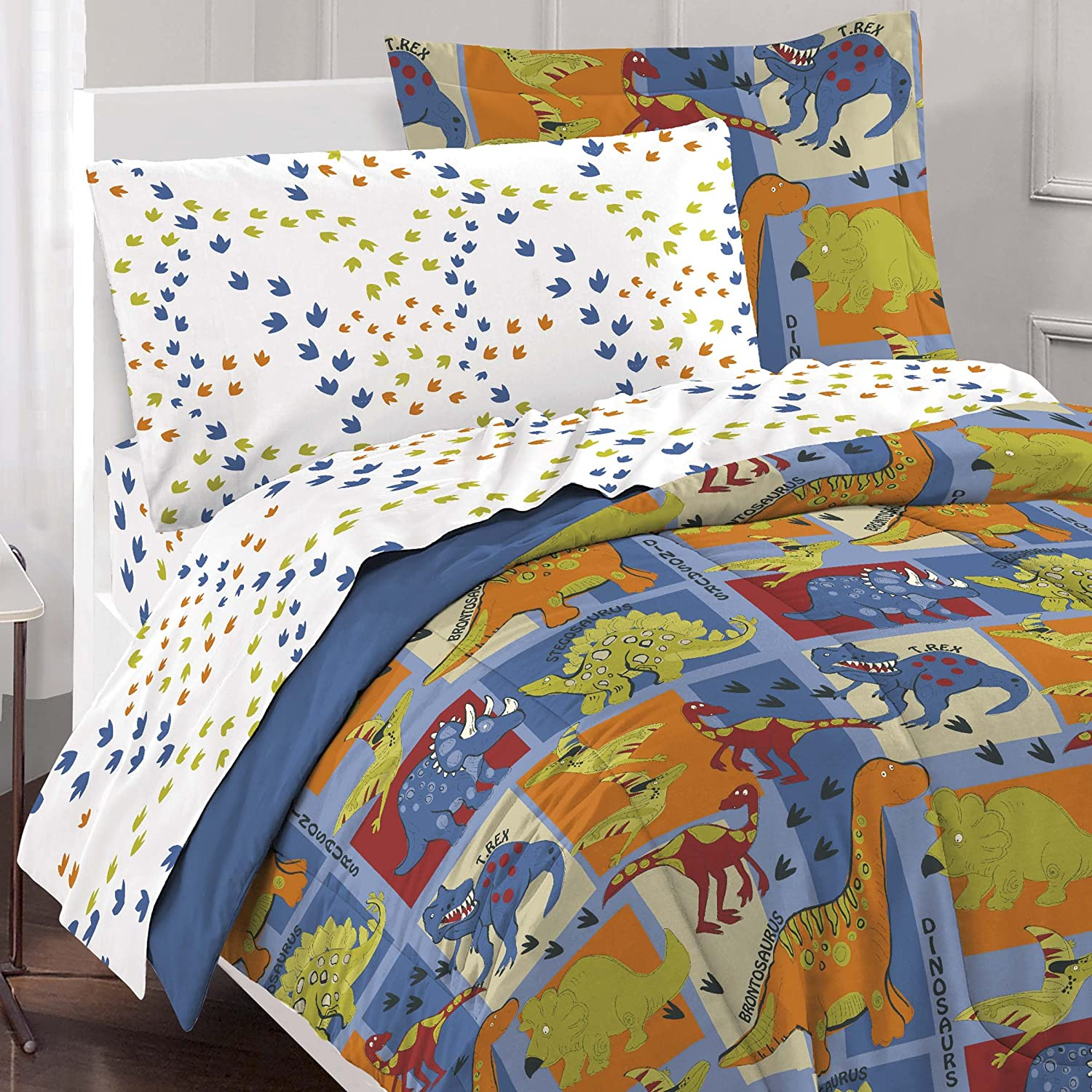 dinosaur bedroom set dinosaurs comforters ease bedding with style 11431