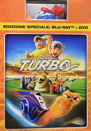 blu ray turbo 3d - deluxe edition (blu-ray 3d + bl [Italia