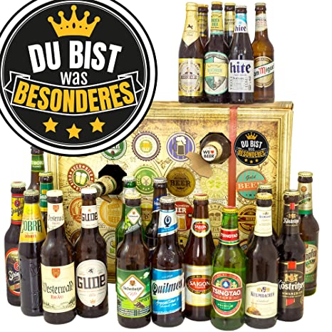 Du Bist Was Besonderes Biergeschenk 24x Bier Mit