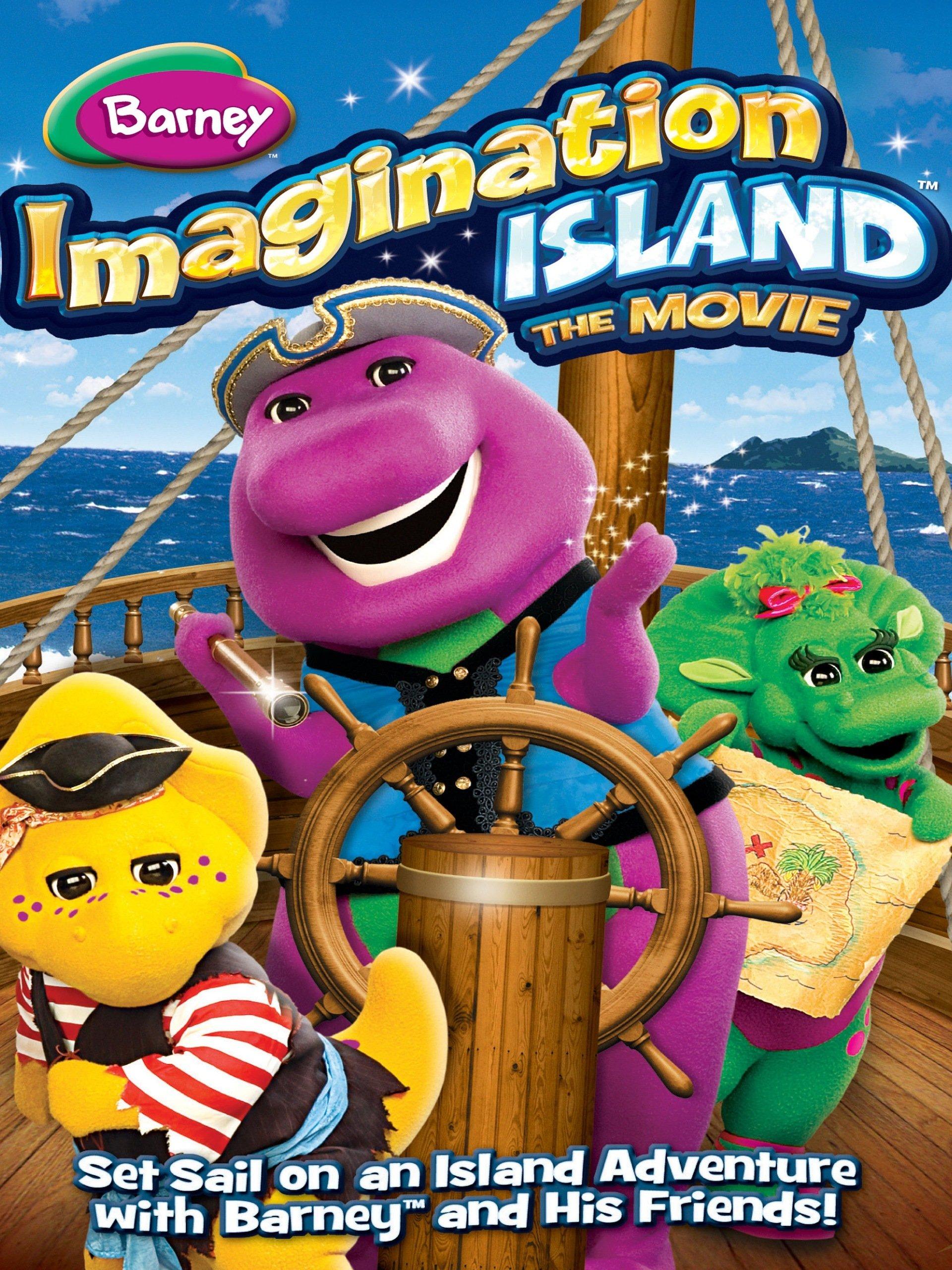 Amazon.com: Barney: Imagination Island The Movie: Barry Pearl, John ...