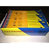 Pencils Pre-sharpened No. 2 144/bx S & E Teachers Edition
