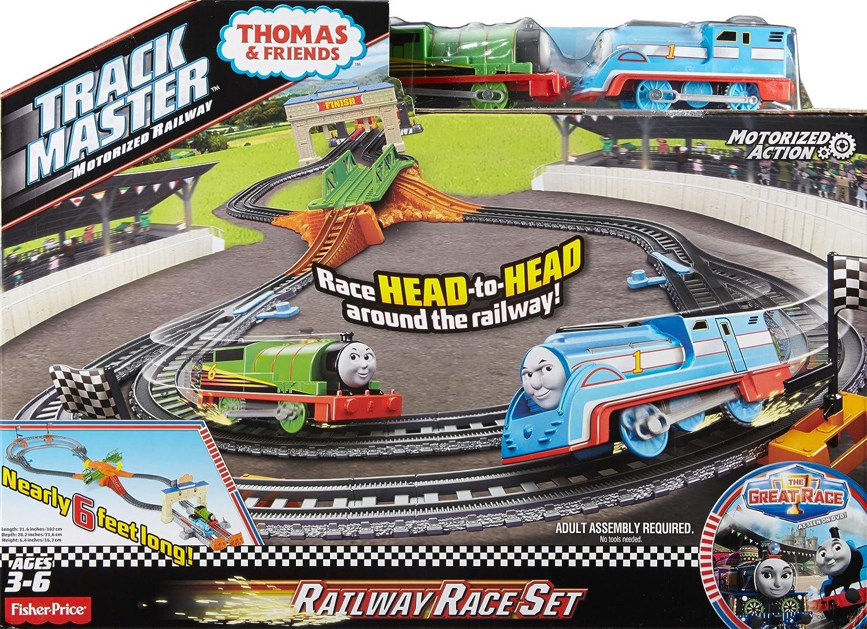 Thomas et ses Amis- Estuche La Gran Carrera, (Mattel DFM53): Amazon.es: Juguetes y juegos