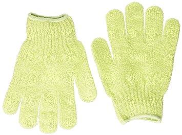 b3bd303bf2c33 Amazon.com : Bath Accessories Bathing Gloves, Celery : Bath Mitts And Cloths  : Beauty