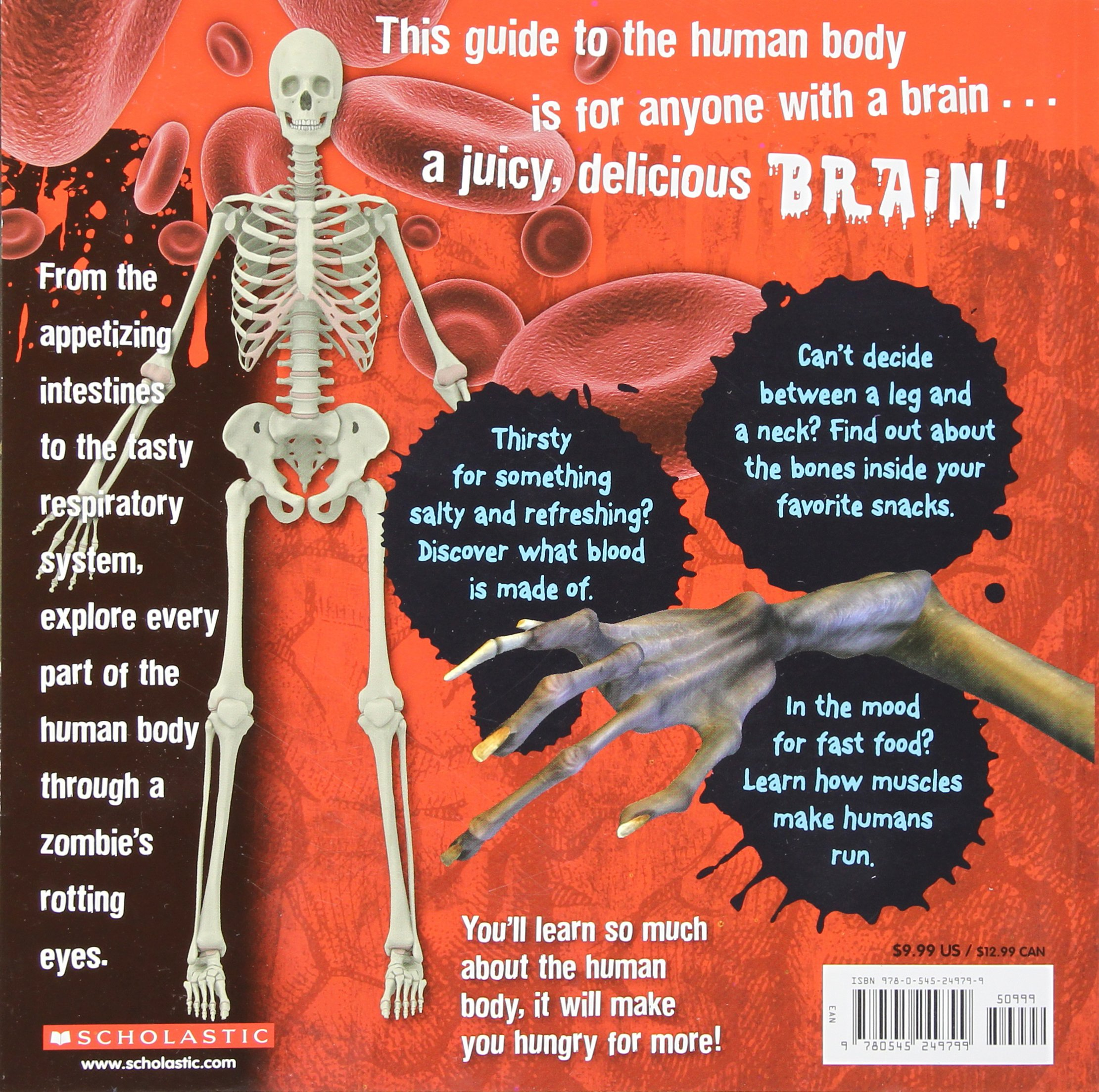 A Zombie\'s Guide To The Human Body: Anatomy 101 Taught By a Zombie ...