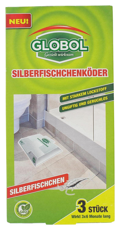 Globol Klebefalle Silberfischköder, beige: Amazon.de: Garten