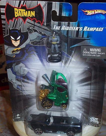 Amazon Com Mattel Hot Wheels The Riddler Rampage Toys Games