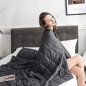 Amazon.com: Cozynight - Manta pesada con cuentas de cristal ...