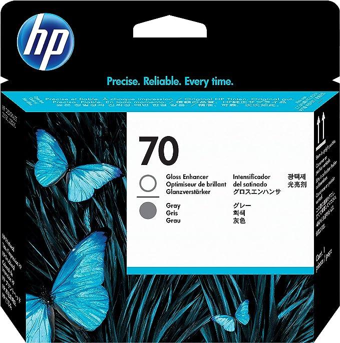 HP C9410A - Cartucho de tinta, 130 ml, Gris: Hp: Amazon.es: Oficina y papelería