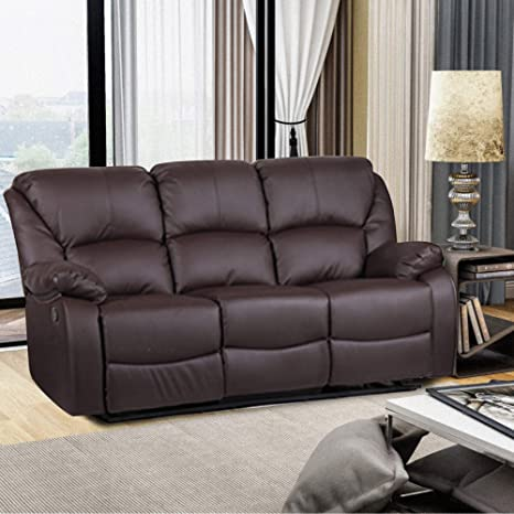 Incredible Amazon Com Harperbright Designs Recliner Sofa Sets For Pabps2019 Chair Design Images Pabps2019Com