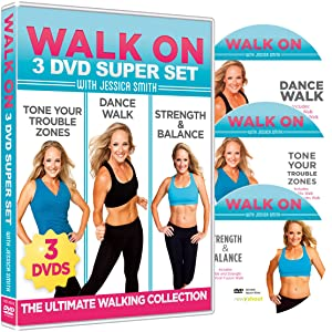 Walk On: 3-DVD Set: 6, 30 Minute Walking Workouts