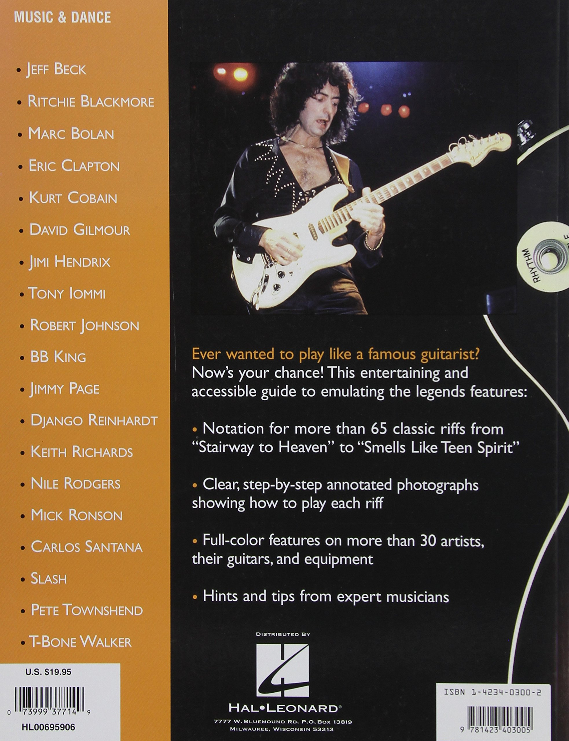 Amazon Learn To Play Like The Guitar Greats The Essential