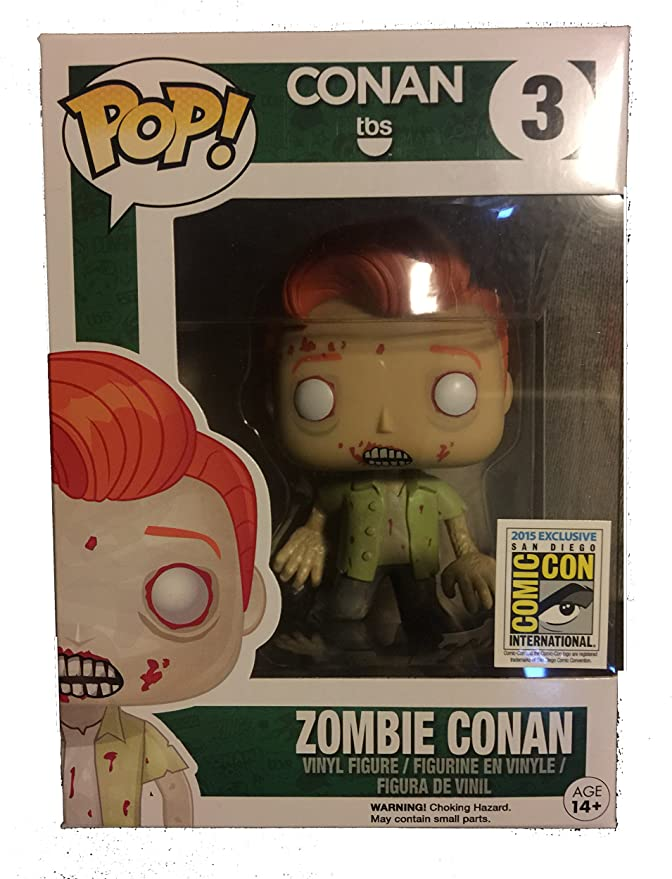 SDCC 2015 Funko Pop! Zombie Conan OBrien Vinyl Figure #3 by Pop: Amazon.es: Juguetes y juegos