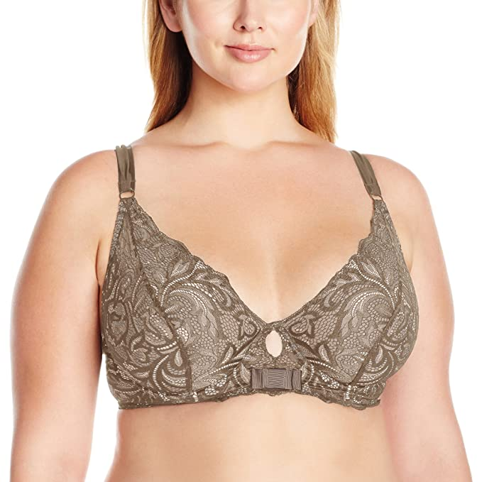f1cc020392306 Paramour Women s Plus Size Sophia Longline Unlined Bra at Amazon Women s  Clothing store