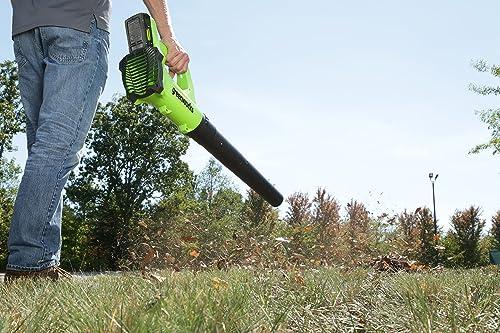 Greenworks 24V Cordless Jet Leaf Blower