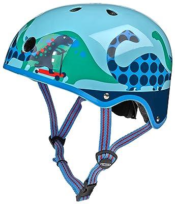 Micro Blue Scootersauras Helmet