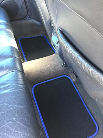 schwarz dunkelgrau Lupex Shop Ford Fiesta zweifarbige Sitzbez/üge