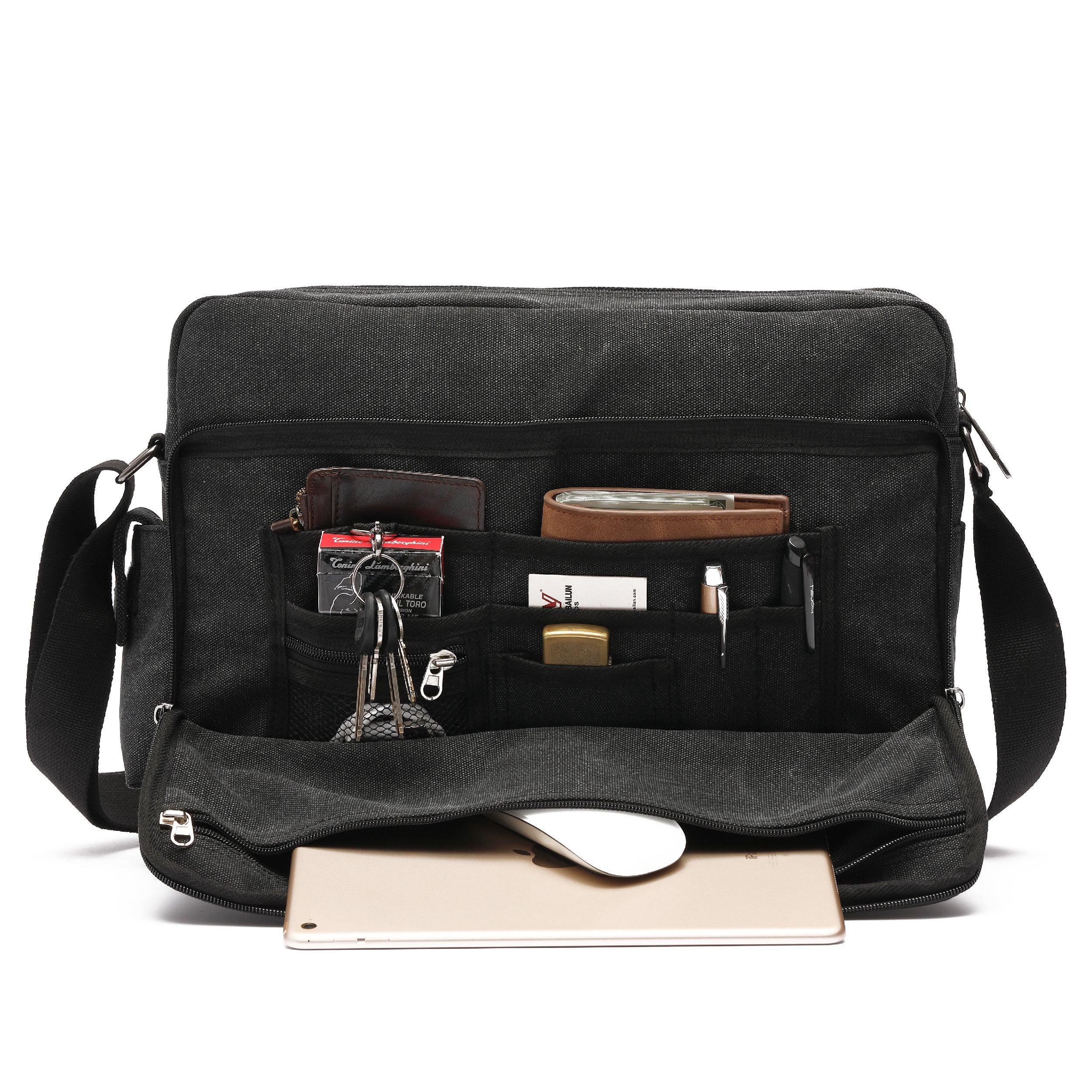 64b987c826df Men's Multifunctional Canvas Messenger Handbag Outdoor Sports Over ...