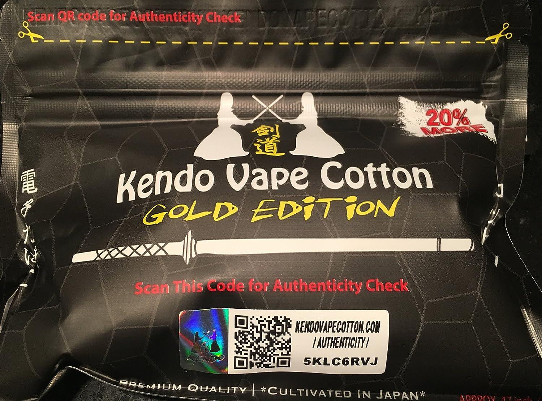 Kendo Gold Edition Vape Cotton TAK1T3NB5EZDS