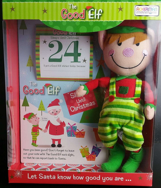 SALE 2 christmas soft toy elf advent teddy father christmas believe santa magic