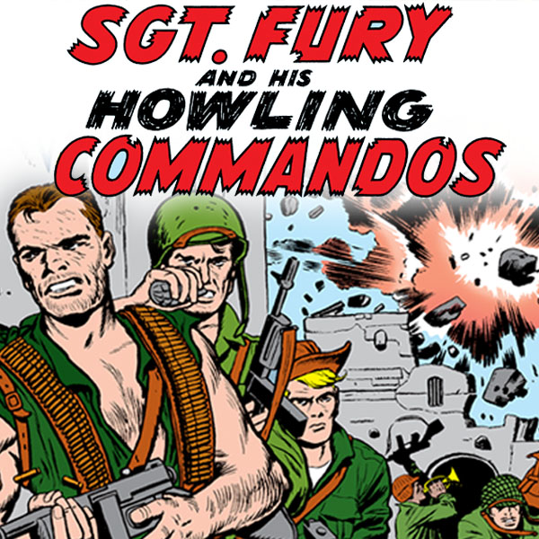 Sgt. Fury and His Howling Commandos (1963-1974) (Collections) (3 Book Series)