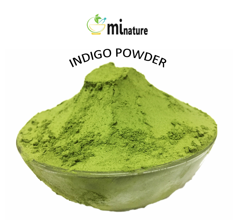 mi nature Indigo Powder -INDIGOFERA TINCTORIA,(100% NATURAL, ORGANICALLY GROWN) 1 LB (454 grams/16 ounces) RESEALABLE BAG by mi nature (Image #2)