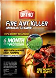 Ortho Fire Ant Killer Broadcast Granules, 11.5 lbs, Treats up to 5,000 sq. ft.