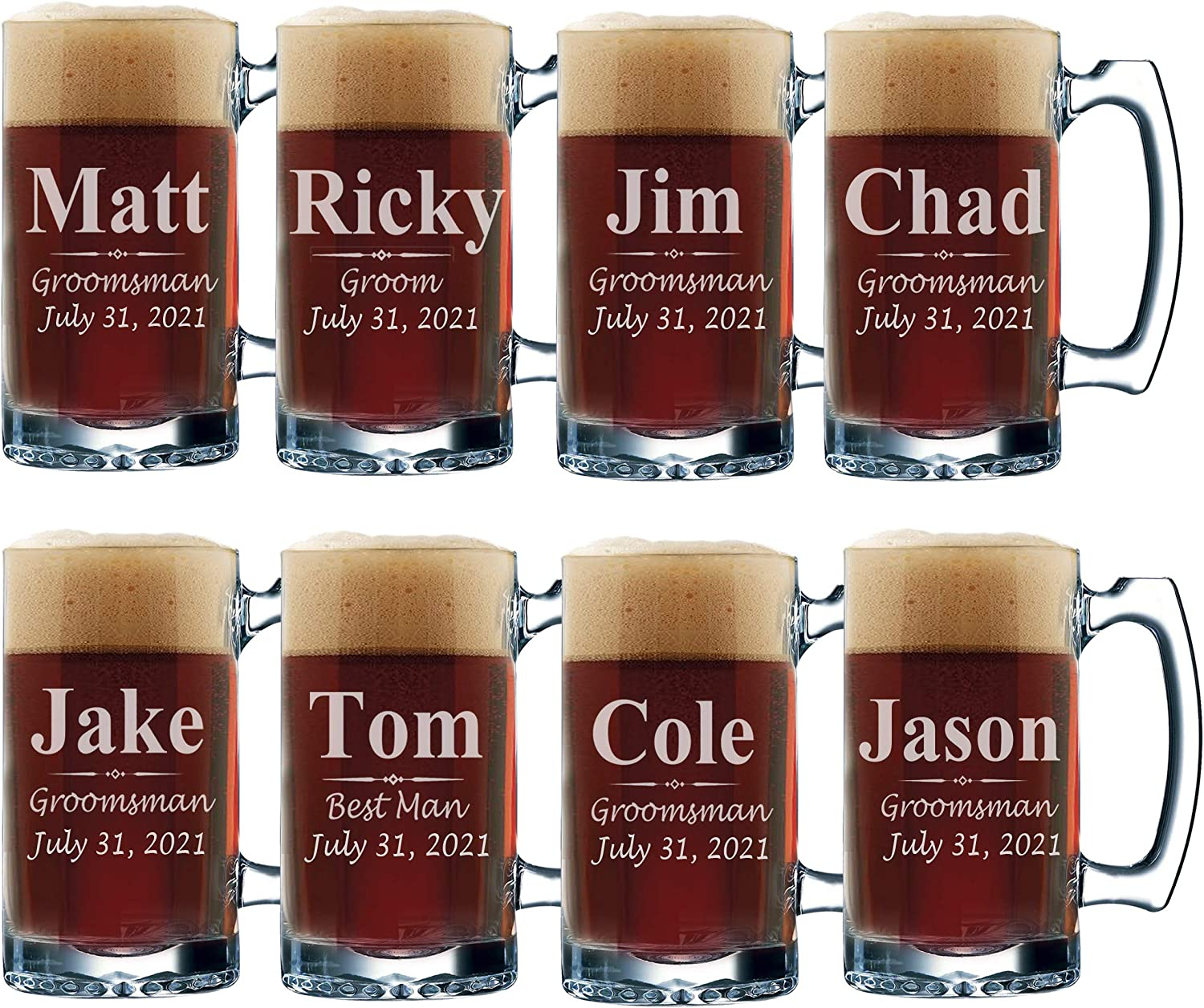 Mountains Wedding Gifts Personalized Pint Glasses Mountain Theme Wedding Glasses Title Mountain Groomsmen Glasses Groomsmen Pint Glass