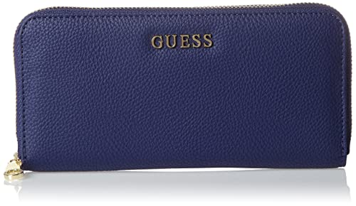 GUESS Desiree, Carteras Mujer, Azul (Royal Blue), 3x10x20 cm (W