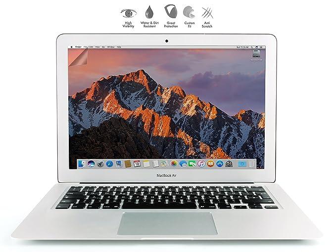 MyGadget Protector Lámina Mate Apple MacBook Air 13 Pulgadas Antireflejo - Película de Pantalla HD Superior con Screen Antihuellas