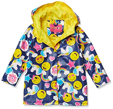 6abdf7e95526 Amazon.com  Wippette Girls Water Resistant Raincoats  Clothing