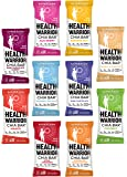 Health Warrior Chia Bars Variety Sampler Package, Many Different Flavors to Try Out, 0.88oz (10 Count)