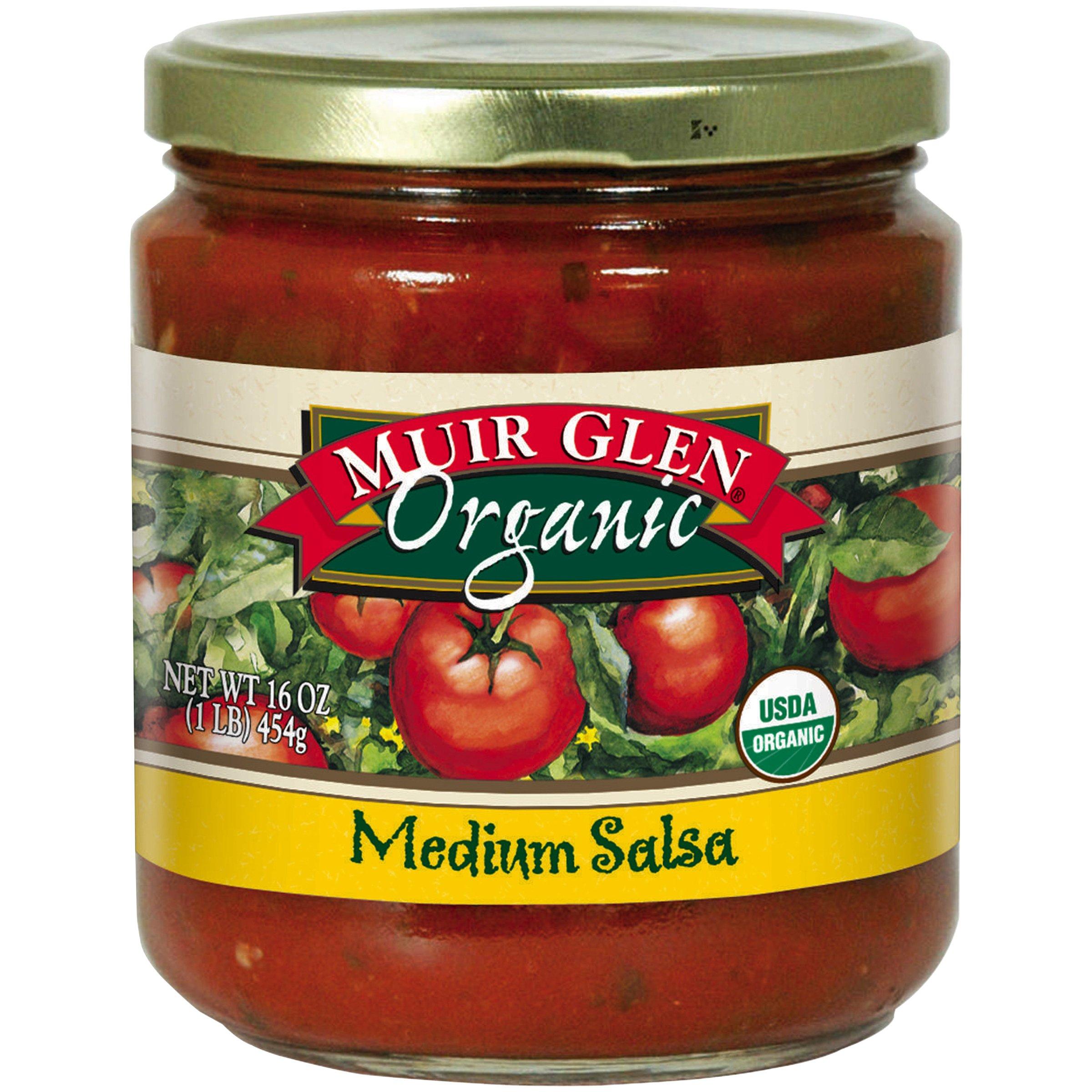Muir Glen Organic Medium Salsa, 16 Ounce (Pack of 6)