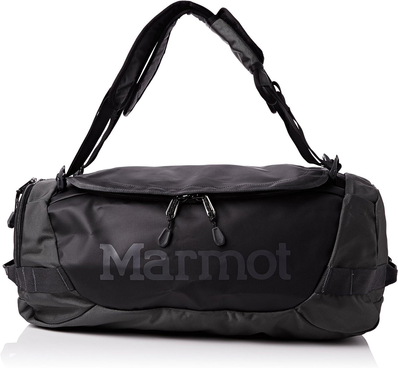 Marmot Unisex Long Hauler Duffle Bag Small Slate Grey Black One Size