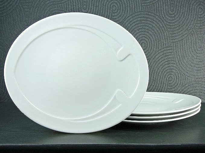 Piatto Serie Gourmet a Forma di Pesce 30,5/cm Set 4/Pezzi Creatable 16695