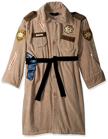 AMC The Walking Dead - Rick Uniform - Terrycloth Bath Robe