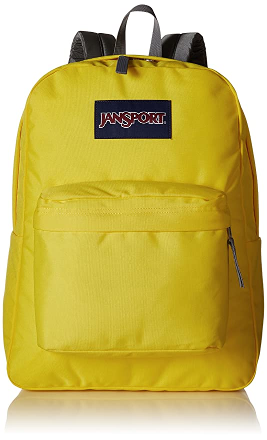 high quality guarantee timeless design modern techniques JanSport Superbreak Polyester 25 Ltrs Yellow Card School Backpack  (JS00T5017MM)