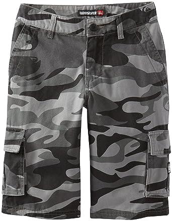 5ce404edc Amazon.com: Quiksilver Big Boys' Sue Fley Camo Shorts: Shorts: Clothing