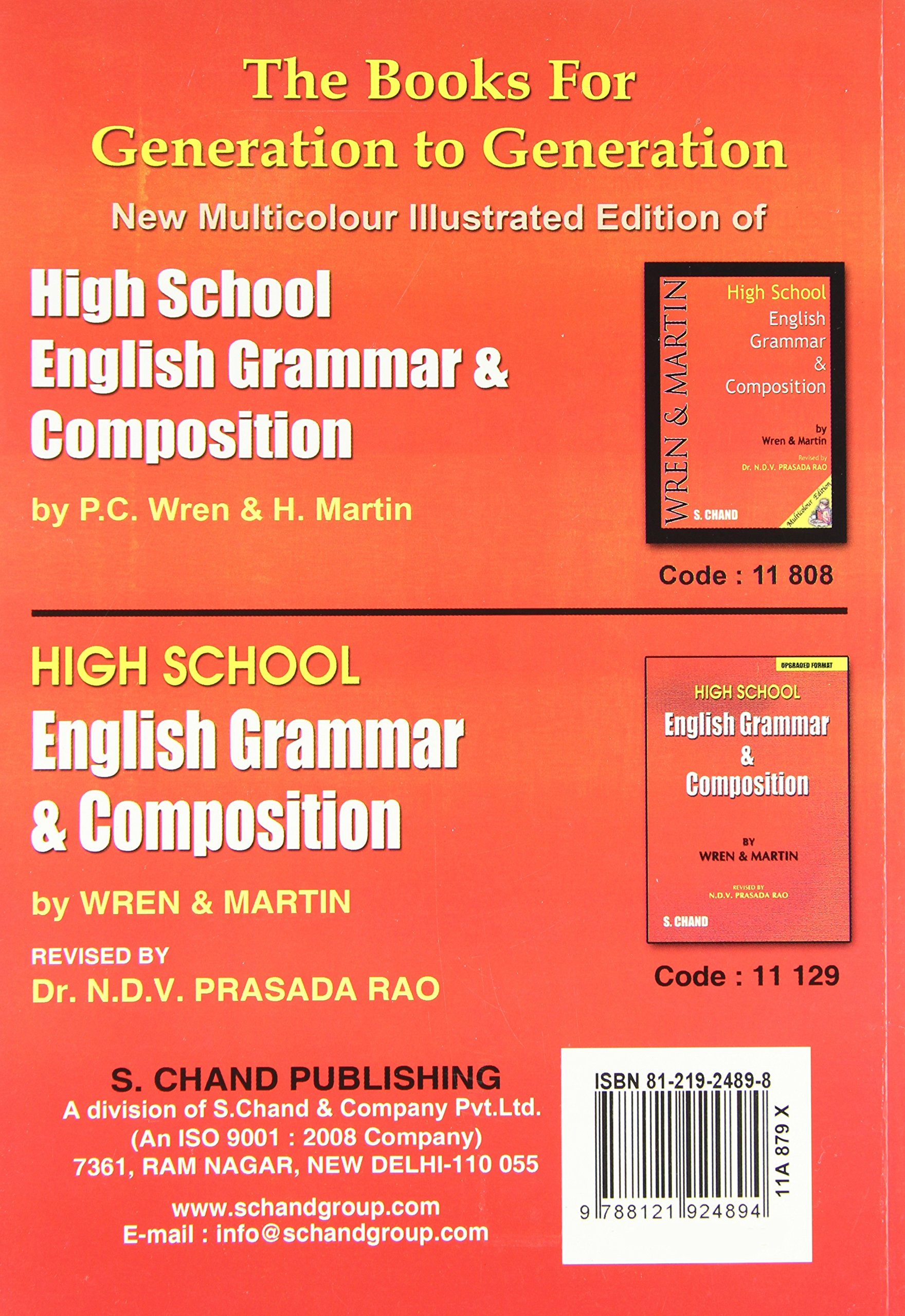 Buy key to high school english grammar and composition book online buy key to high school english grammar and composition book online at low prices in india key to high school english grammar and composition reviews fandeluxe Choice Image