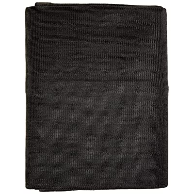 Windscreensupplyco Heavy Duty Black Knitted Mesh Tarp with Grommets 60-70% Shade (20 FT. X 20 FT.) [5Bkhe0412064]