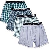 Tommy Hilfiger Men's 4 Pack Cotton Classics Woven Boxers