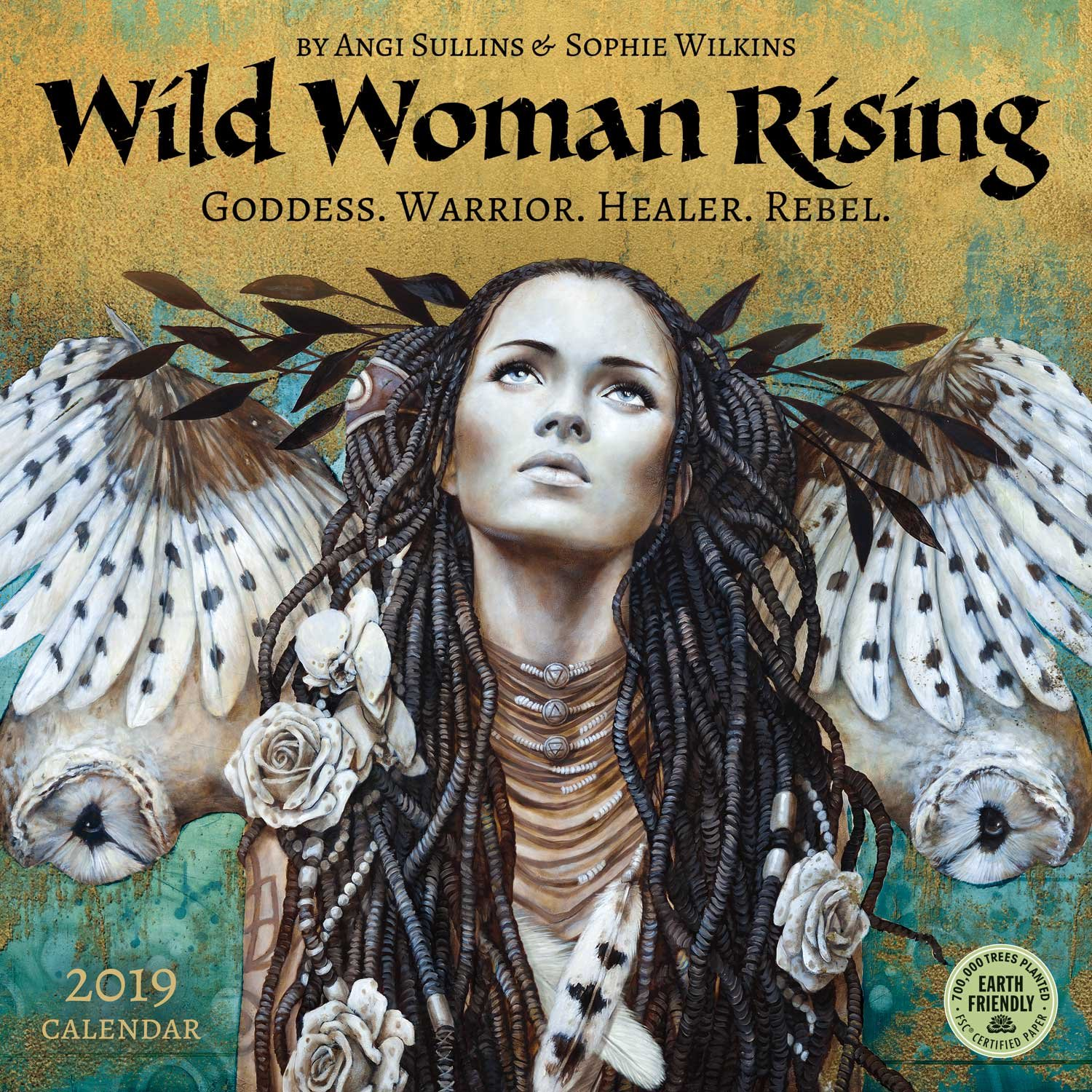 wild woman rising 2020 wall calendar goddess warrior healer rebel