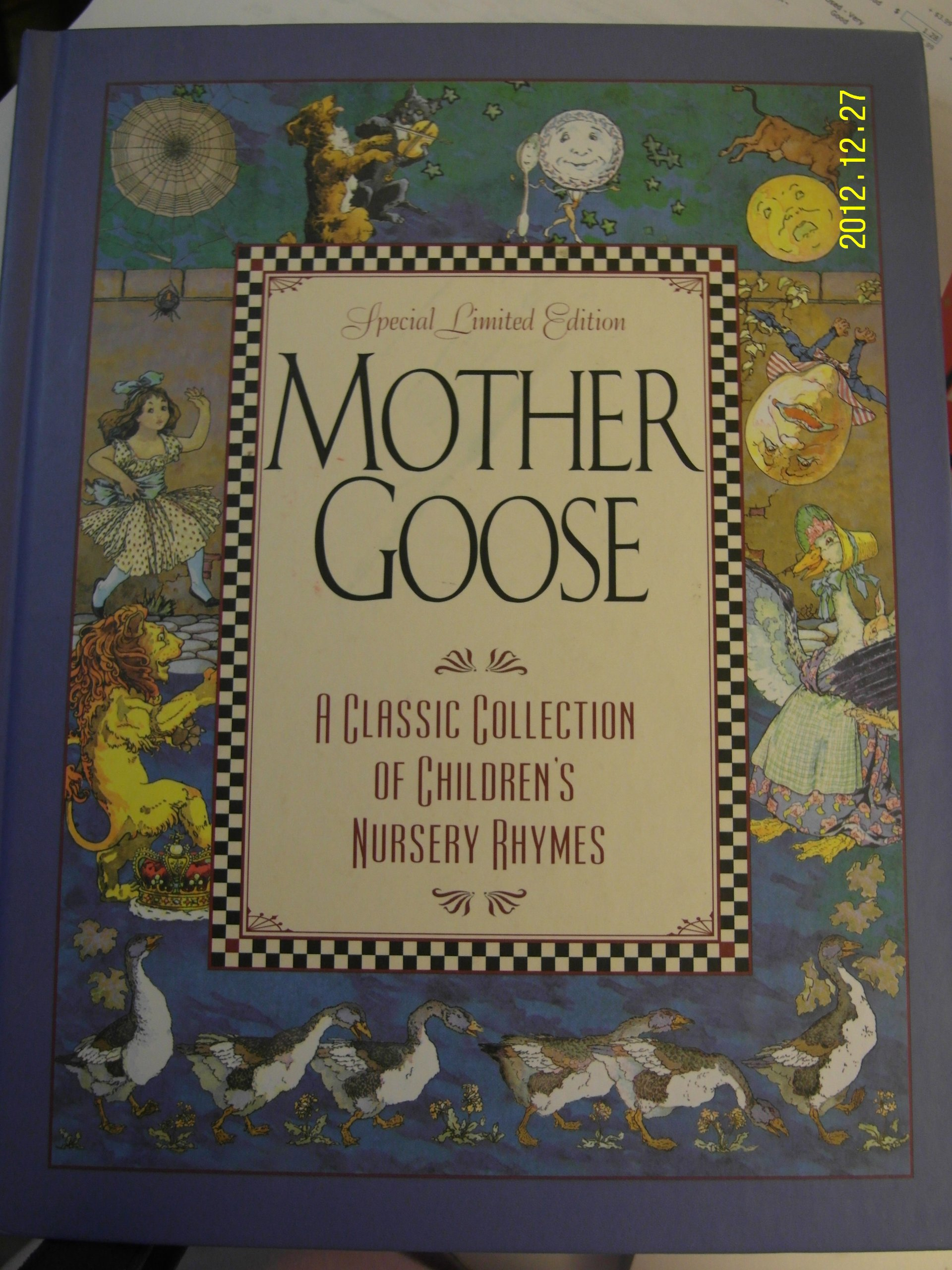 Mother Goose Special Limited Edition A Classic Collection Of Children S Nursery Rhymes Amazon Com Books