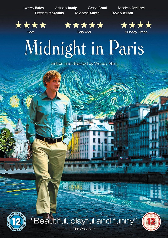 Amazon Com Midnight In Paris Dvd 2011 2012 Owen Wilson Rachel Mcadams Marion Cotillard Movies Tv