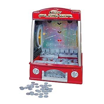 Global Gizmos Máquina atrapa Monedas de Juguete, Funciona con Pilas, con Luces y Sonido: Amazon.es: Juguetes y juegos