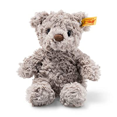 "Steiff Stuffed Teddy Bear- Soft And Cuddly Plush Animal Toy - 8"" Authentic Steiff: Toys & Games"